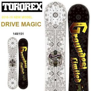 TORQREX トルクレックス ボード DRIVE MAGIC ドライブマジック 板 スノーボード ダブルキャンバー 25%off|elephantsports