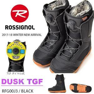 ROSSIGNOL ロシニョール スノーボード ブーツ スノボ DUSK TGF RFG00J3 レディース ダイヤル式 ブーツ 2017-2018冬新作 17-18 送料無料 42%off|elephantsports