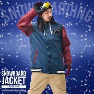 スノーボードウェア メンズ スタジャン スノーウエア スノーボード ウェア スノージャケット SNOWBOARD|elephantsports