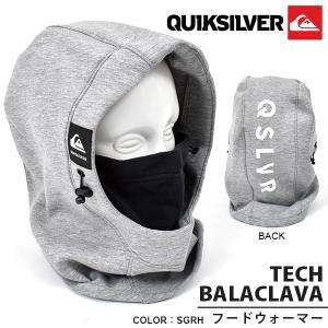 フードウォーマー QUIKSILVER クイックシルバー TECH BALACLAVA メンズ バラクラバ フェイスマスク スノーボード スノボ スキー  2019-2020冬新作 10%off|elephantsports
