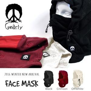フェイスマスク  帽子 ナーリー GNARLY FACEMASK バラクラバ スノーボード  スノー スケート 国内正規品|elephantsports