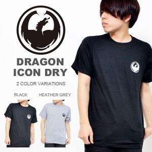 半袖 Tシャツ DRAGON ドラゴン メンズ Tシャツ ICON DRY TEE カジュアル ロゴ インナー ギア スノボ 2017春新作 日本正規品 スノーボード 得割30 elephantsports
