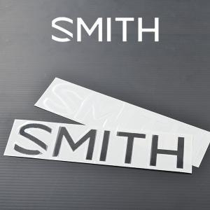 ゆうパケット対応可能!ステッカー SMITH スミス ロゴ シール 4.5cm×20cm スノーボード elephantsports
