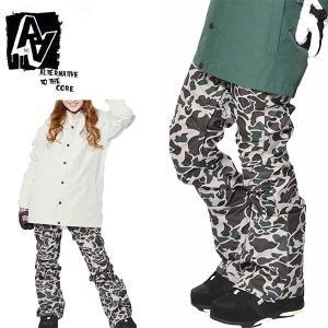 スノーボードウェア AA HARDWEAR ダブルエー MID PANTS レディース パンツ TIGHT FIT スノボ ボトムス ガール 17-18 10%off|elephantsports