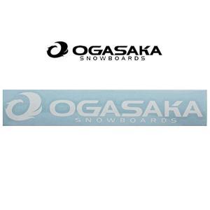 ゆうパケット対応可能! カッティング ステッカー OGASAKA オガサカ CUTTING LOGO Lサイズ 380×74mm スノボ スノーボード スキー 2017-2018冬新作 17-18 elephantsports