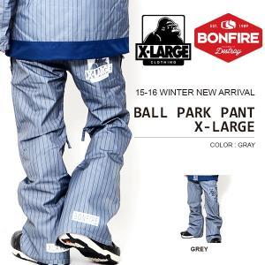 スノーボードウェア ボンファイア BONFIRE メンズ BALL PARK PANT X-LARGE エクストララージ コラボ パンツ ボトム 得割30|elephantsports