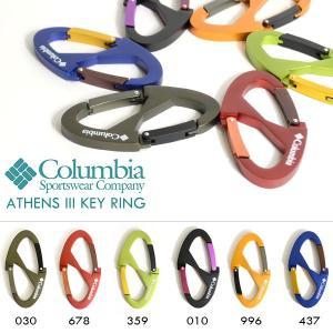 ネコポス対応可能!キーリング コロンビア Columbia Athens 3 Key Ring カラビナ キーホルダー アウトドア メンズ レディース