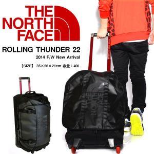 キャリーバッグ ノースフェイス THE NORTH FACE ROLLING THUNDER 22インチ 40リットル ローリングサンダー スーツケース  キャリーバッグ