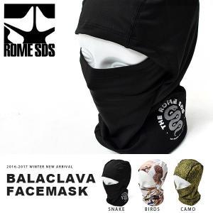 バラクラバ フェイスマスク ROME SDS ローム BALACLAVA TWO-PART FACEMASK  スノーボード 日本正規品  得割10|elephantsports