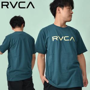 ネコポス対応! RVCA ルーカ 半袖 Tシャツ メンズ BIG TEE 2017春夏新作 サーフ サーフィン 半袖Tシャツ AH041-243 30%off elephantsports