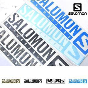 SALOMON サロモン STICKERS ステッカー スノーボード Lサイズ ロゴ LOGO カッティング シール  国内正規品 elephantsports