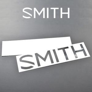 ゆうパケット対応可能! ステッカー SMITH OPTICS スミス LOGO CUTTING 5.5cm×25cm ラージ ロゴ カッティング STICKER  スノーボード elephantsports