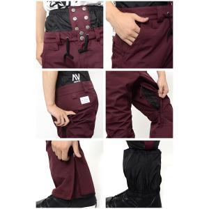 スノーボードウェア パンツ AA HARDWEAR ダブルエー ハードウェア SMOKER PANTS メンズ パンツ SLIM FIT ボトムス 30%off|elephantsports|05