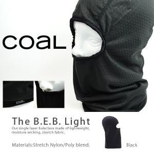 バラクラバ COAL コール メンズ レディース The B.E.B Light フェイスマスク 防寒  得割20|elephantsports