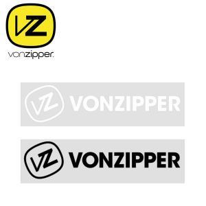 ゆうパケット対応可能! ボンジッパー VONZIPPER ステッカー 280mm×67mm elephantsports