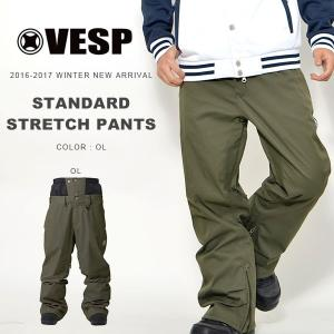 スノーボードウェア VESP ベスプ STANDARD STRETCH PANTS メンズ BBMP16-01 パンツ  ボトムス  25%off|elephantsports