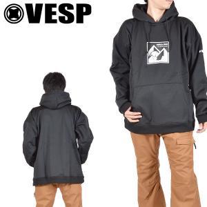長袖 パーカー VESP ベスプ メンズ PEANUTS WATER PROTECT HOODY プルオーバー フーディ ユニセックス スノーボード スノボ 2019-2020冬新作 20%off|elephantsports