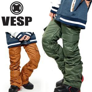 スノーボードウェア VESP ベスプ SLIM NYLON PANTS レディース VPWP16-03 パンツ  ボトムス レディース  25%off|elephantsports