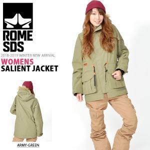 スノーボードウェア ROME SDS ローム レディース WOMENS SALIENT JACKET ジャケット 40%off elephantsports