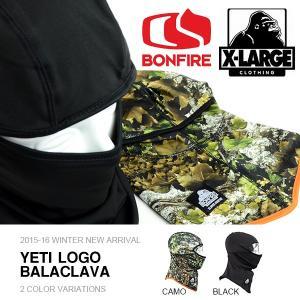 ボンファイア BONFIRE バラクラバ Yeti Logo Balaclava X-LARGE エクストララージ フェイスマスク スノーボード  得割20|elephantsports