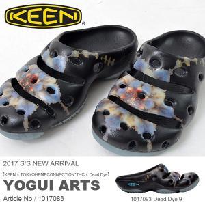 サンダル キーン KEEN メンズ ヨギ アーツ YOGUI ARTS デッドダイ THC Dead Dye コラボ クロッグ 水陸両用 2017春夏新作 送料無料|elephantsports