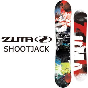 ZUMA ツマ スノーボード 板 SHOOTJACK フラットロッカー メンズ  ボード スノボ 146 150 153 158 Swallow Ski 紳士 2017-2018冬新作 送料無料|elephantsports
