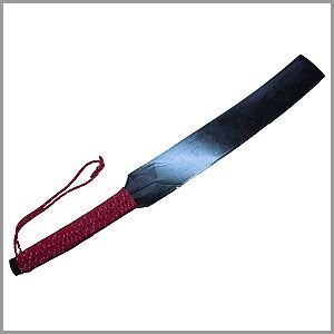 【受発注】【代引不可】江戸時代、剣術家が素振りの強化鍛錬に使用していた極太かつ幅広の木刀がございまし...