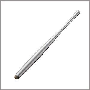 ELECOM (エレコム) AL.STYLUS スマートフォン用導電繊維タッチペン グレー P-TP...