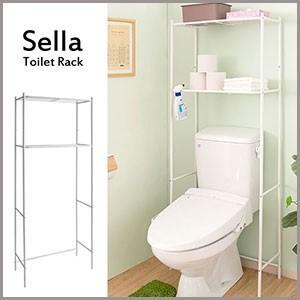 【受発注】【代引不可】トイレのタンク上に設置して空いたスペースを有効活用できる、ホワイトアイアンのト...