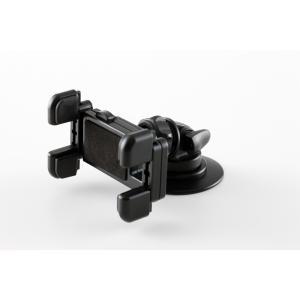 【M-ST-031】携帯電話・スマートフォン 両面テープ貼付け 小型 車載ホルダー/車載スタンド/カーマウント/車載用マウント|eleworks-store
