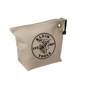 KLEIN TOOLS CANVAS ZIPPER BAGS...