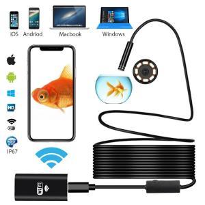 ワイヤレス内視鏡カメラ スマホ ファイバースコープ iphone android ios pc対応 wifi接続