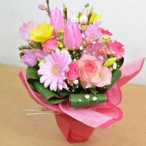 生花 ひな祭り限定 スタンディングブーケ 花束 フラワーギフト 花 ギフト プレゼント お祝い 贈り物|elfleur