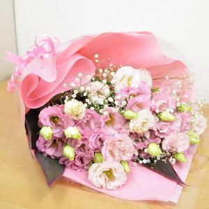 トルコキキョウ&かすみ草 ピンク 誕生日 ギフト プレゼント|elfleur