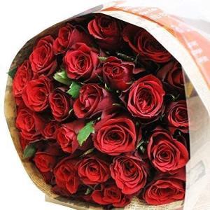 レッド・ピンクから選べる バラの花束 50本 結婚記念日 プレゼント 薔薇 花 ギフト 贈り物|elfleur