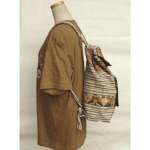 AB-031-M02 デイバッグ マンタ 民族織物 インカ柄 アルパカ柄 インディオ柄|elgusto