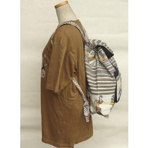 AB-031-M03 デイバッグ マンタ 民族織物 インカ柄 アルパカ柄 インディオ柄|elgusto