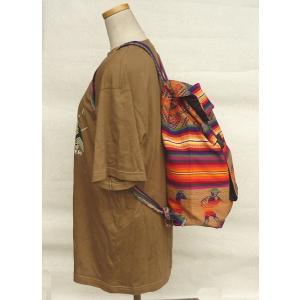AB-031-M09 デイバッグ マンタ 民族織物 インカ柄 アルパカ柄 インディオ柄|elgusto