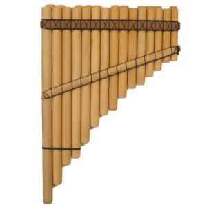 CHRO-10 サンポーニャ フォルクローレ楽器 半音付き 26管 民族楽器 クロマティカ|elgusto