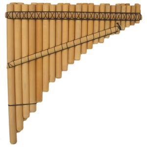 CHRO-11 サンポーニャ フォルクローレ楽器 半音付き 38管 民族楽器 クロマティカ|elgusto