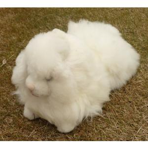 NUIGURUMI-04 猫 ねこ  ベビーアルパカ毛皮 ソフト 可愛い ペルー アンデス elgusto