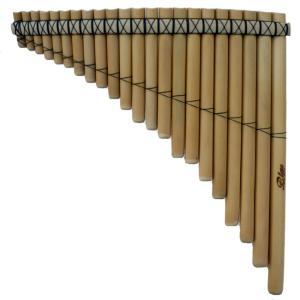 PAN-21 左低音 パンフルート Fa 民族楽器 フォルクローレ楽器 サンポーニャ アンデス|elgusto