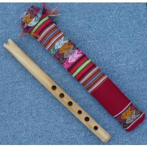 QUENA-Z07  ケーナ 竹製 民族楽器 フォルクローレ楽器 ペルー アンデス 入門用|elgusto