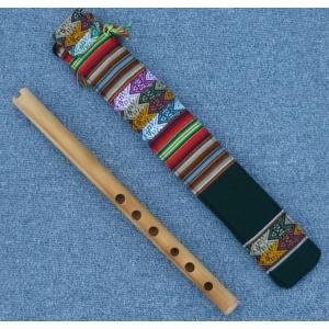 QUENA-Z08  ケーナ 竹製 民族楽器 フォルクローレ楽器 ペルー アンデス 入門用|elgusto