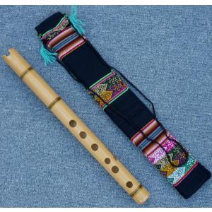 TAKE-D1  ケーナ 竹製 民族楽器 フォルクローレ楽器 ペルー アンデス HUANCA作|elgusto
