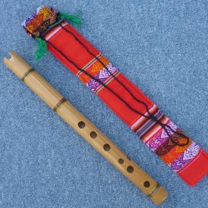 TAKE-D2  ケーナ 竹製 民族楽器 フォルクローレ楽器 ペルー アンデス HUANCA作|elgusto
