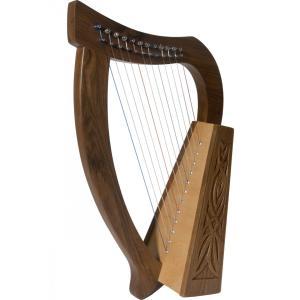 ベイビーハープ スプルース(12弦) Roosebeck社 ハープ 楽器 演奏用 プレゼントとしても最適 簡易日本語説明書付き