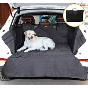 AYADA ペット用SUVトランクマット 犬用ドライブシート 車用ペットシート 防水 滑り止め サイド・バンパー保護 トランクエリアにフィットする 8|ellies-os