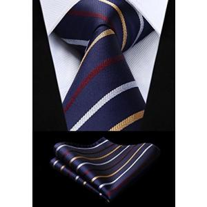 柔らかな手触りのポリエステルと上品な光沢のシルクを組み合わせたネクタイセットです。 男性シャツのベー...