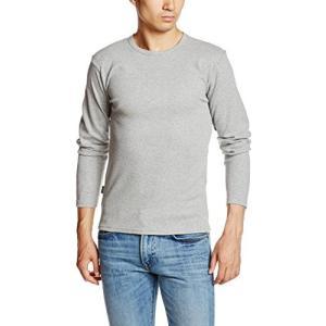 アヴィレックス  AVIREX DAILY CREWNECK LS TEE 6153481 14GREY グレー L Tシャツ|ellies-os